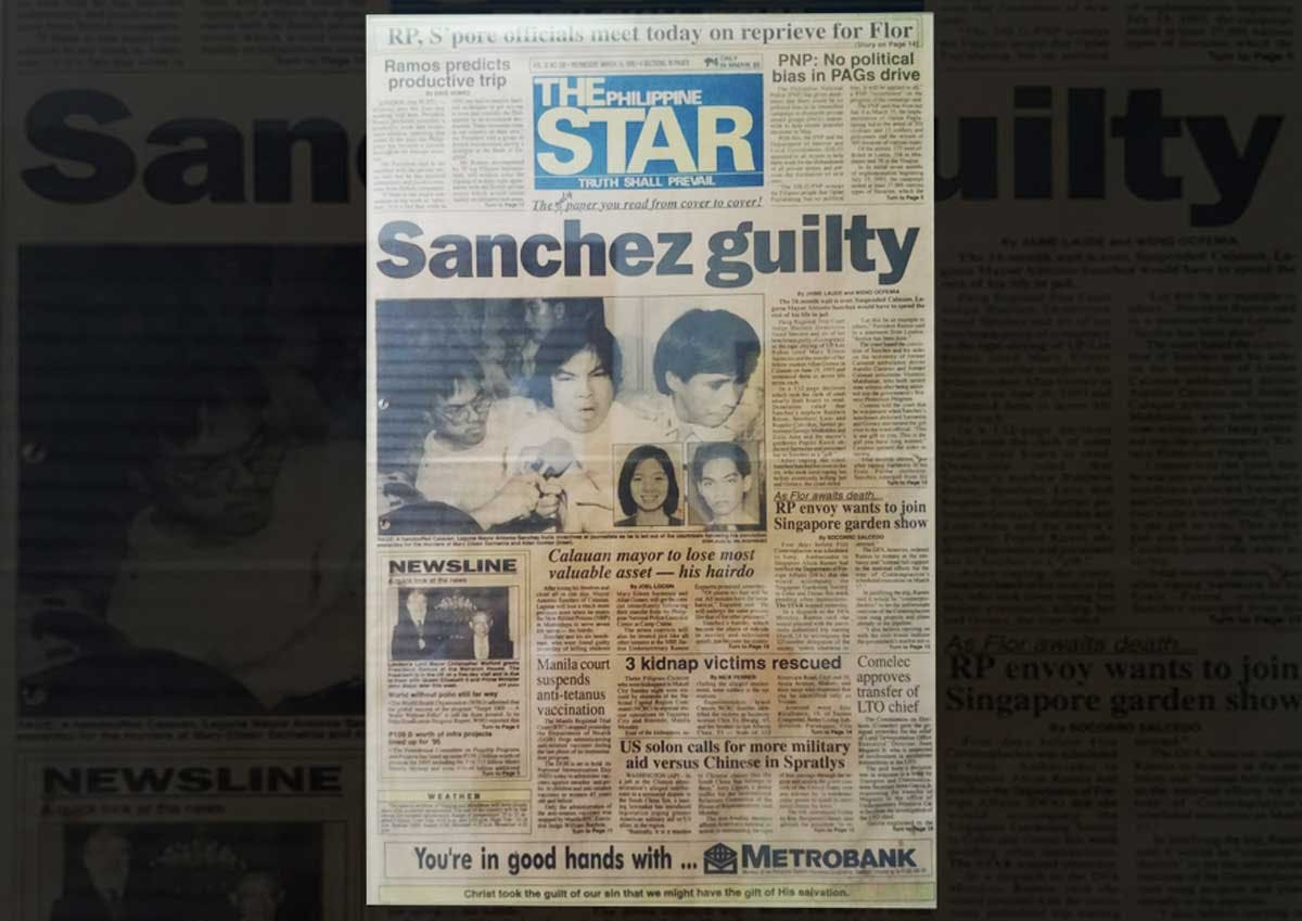 Frontpage - The Sarmenta-Gomez Murder and the Mayor - Philippine Archive