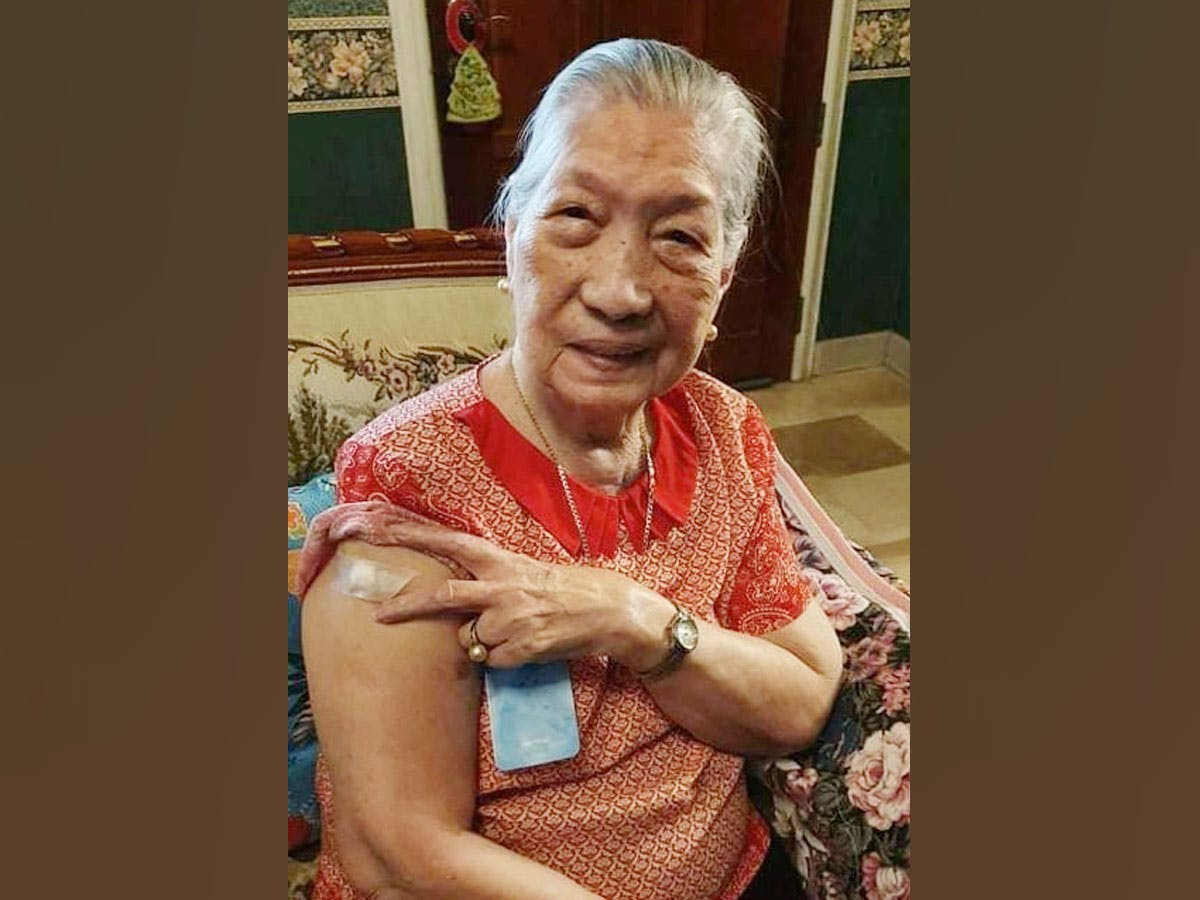 Navotas' 100-Year-Old 'Superwoman' Breezes Through COVID-19 Vaccination