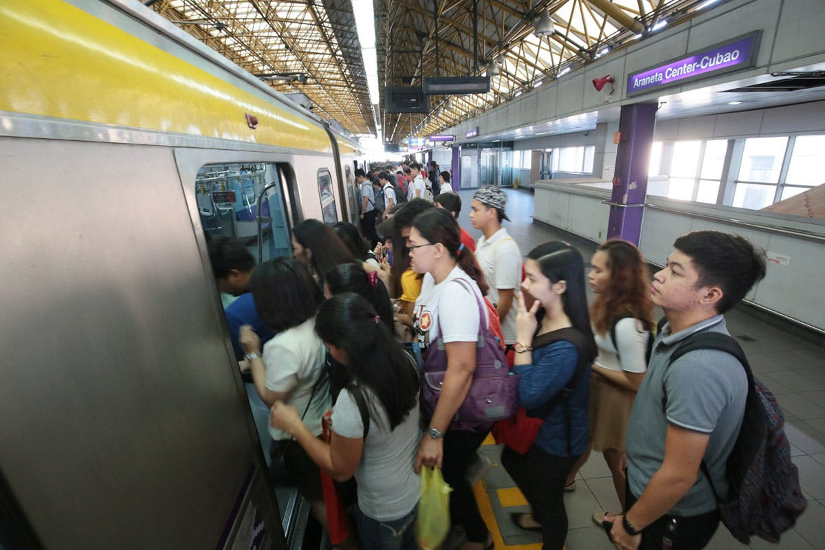 Still Without A Contractor, DOTr Promises To Finish LRT-2 Repairs By June