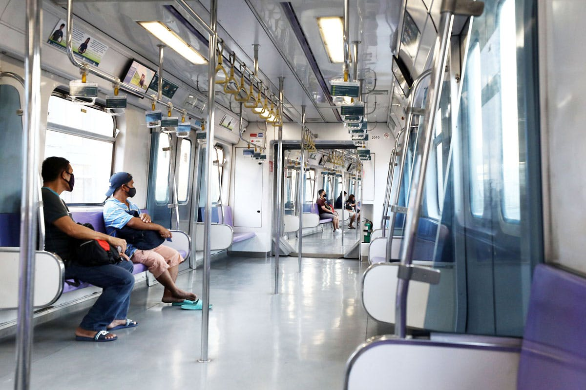 Visual Cues Seating Arrangements In Mass Transport Warmer Malls