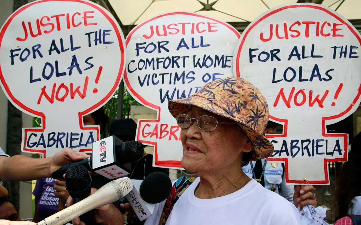 Aging Filipino Comfort Women Still Rally In The Streets For Justice
