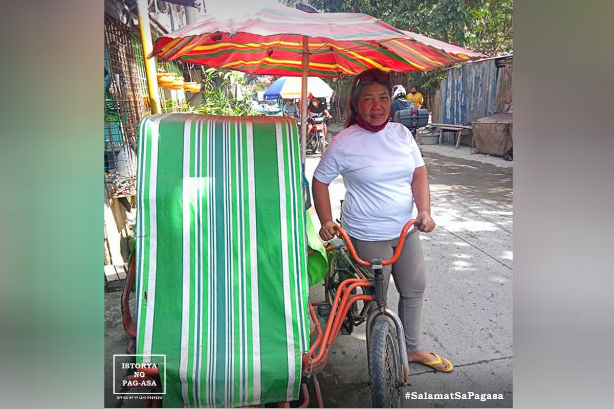 Pedaling Through The Pandemic: Mother Of Four Drives A Pedicab To Send Kids To School