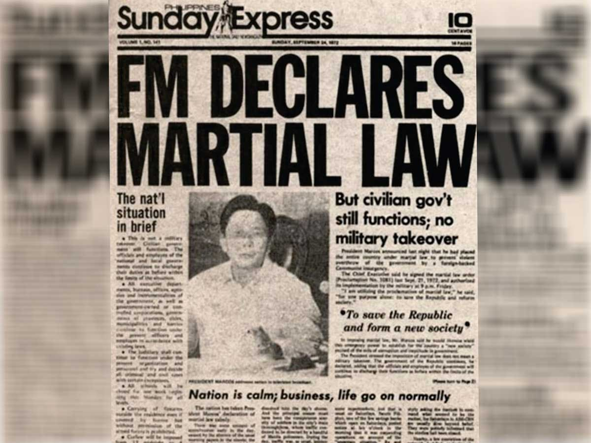 Martial Law To Be Taught As New Subject At UP