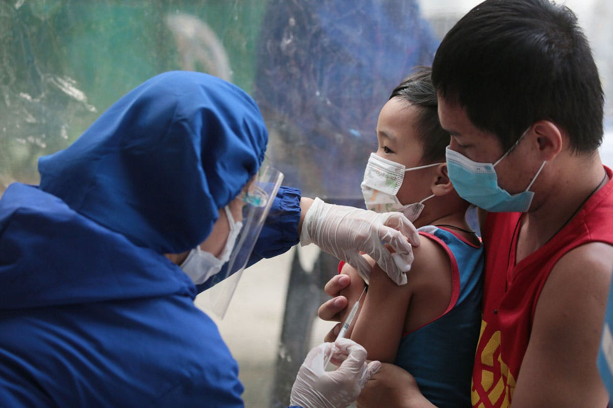 Children Not Yet Up For COVID-19 Vaccination – DOH