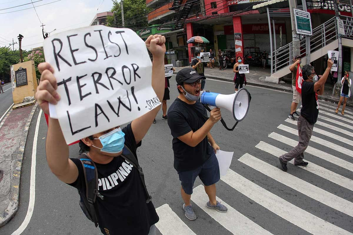 50 US Legislators Call For Repeal Of 'Overbroad' Anti-Terrorism Act; Sotto, Roque Cry 'Interference'