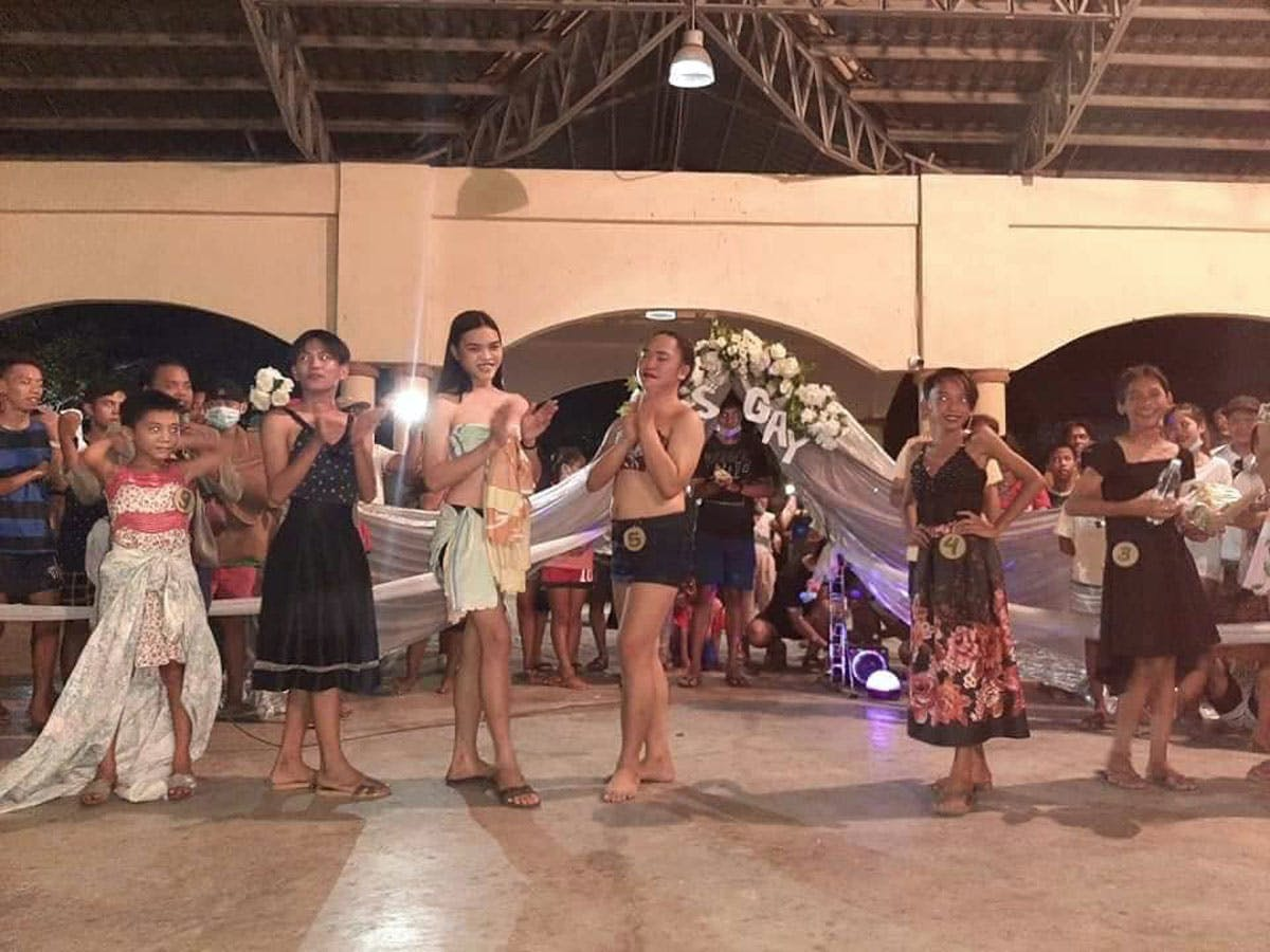 Just For Laughs: Beauty, Singing Contests Lighten Up Batangas Evacuees