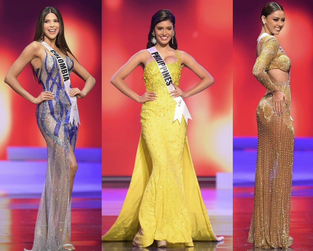 The Most Beautiful Evening Gowns at The Miss Universe Preliminary Competition