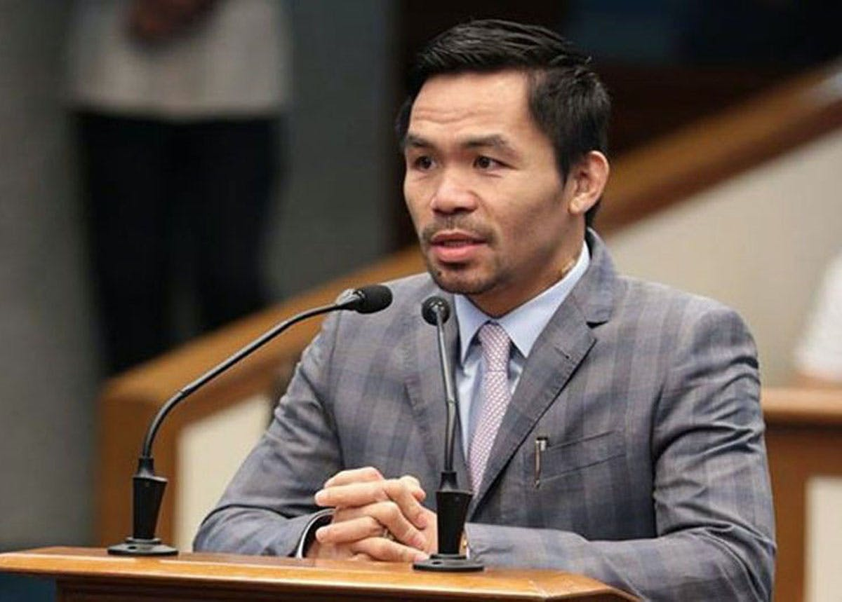 Pacquiao To Duterte: Do Not Buckle In Face Of China's WPS Intrusions