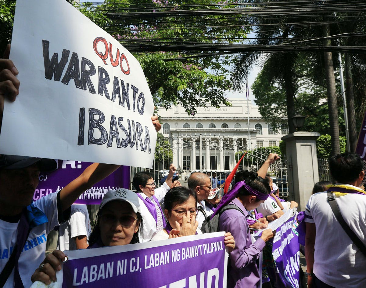 Pinning Down ABS-CBN Through A Quo Warranto Case