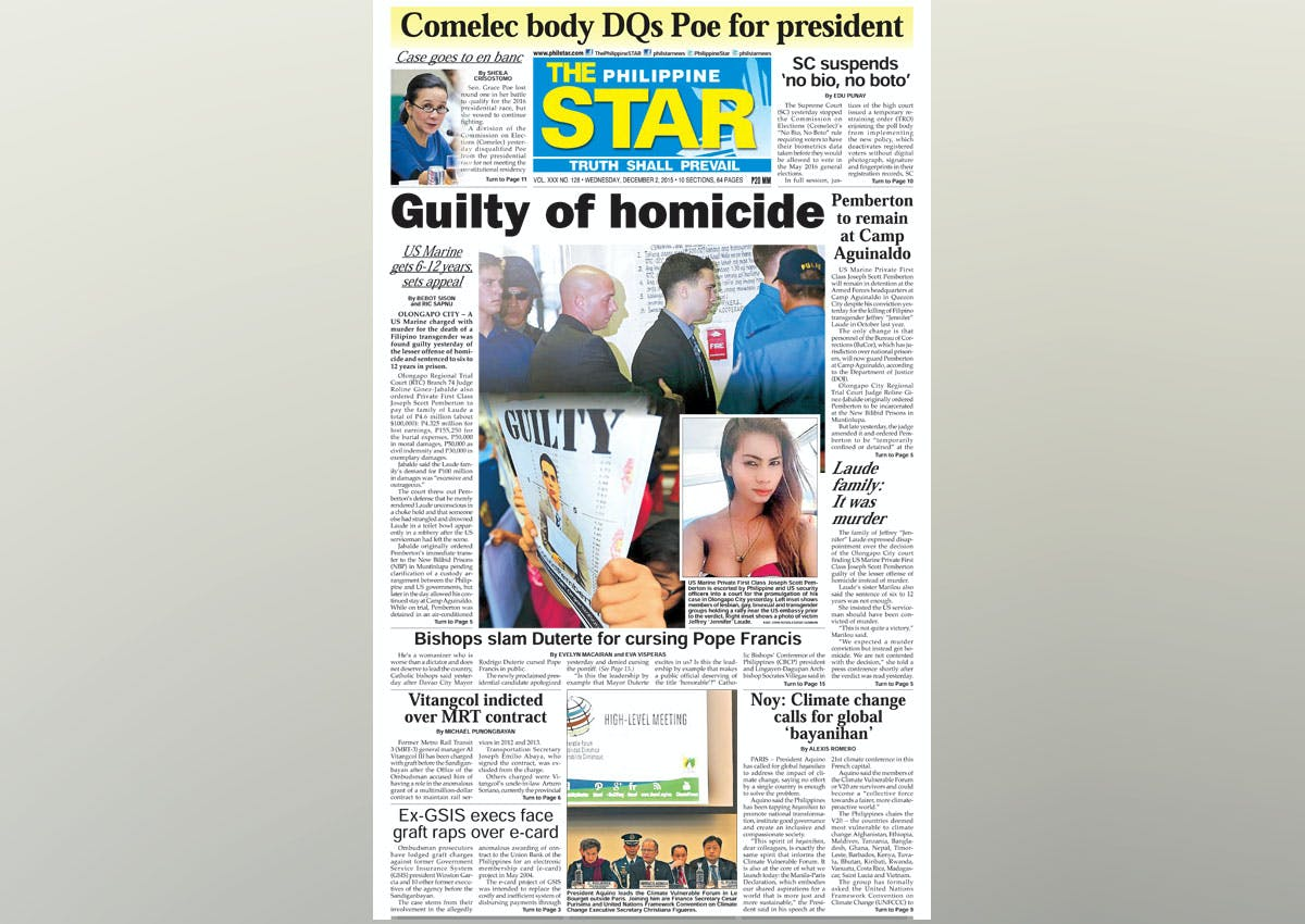 Backgrounder: Why The Killing Of Transgender Woman Jennifer Laude Drew Outrage In 2014