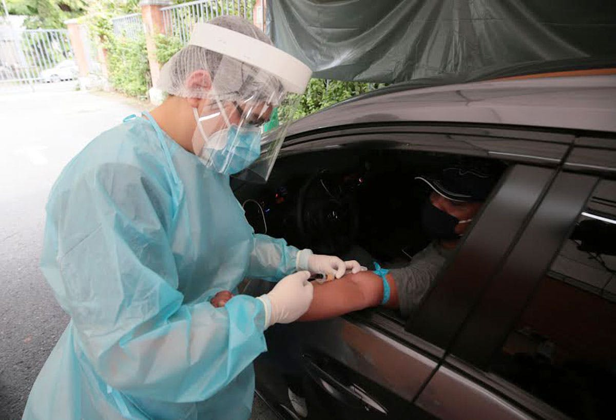 The Medical City Launches Drive-Thru COVID-19 Antibody Testing ...
