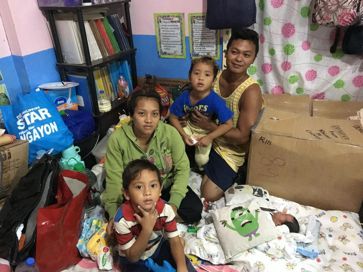 A Taal Baby And A Humble Town On The Front Line