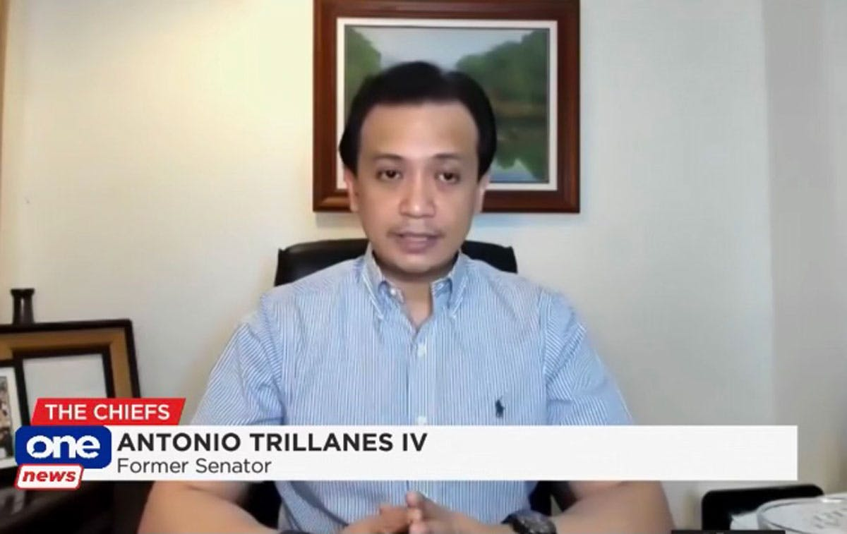 Trillanes Vows To Send Duterte To Jail If Elected President; Palace Says He's Free To Dream