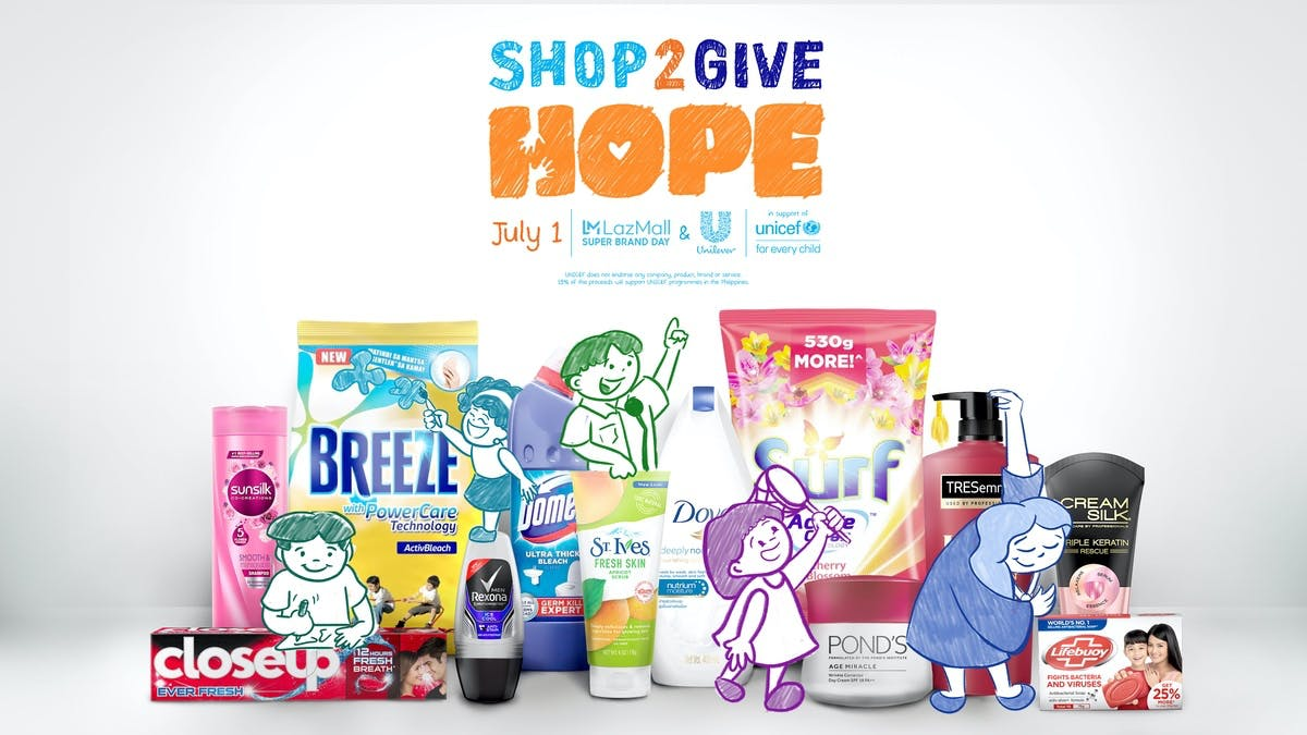 Shop To Give Hope To Our Filipino Youth This July 1