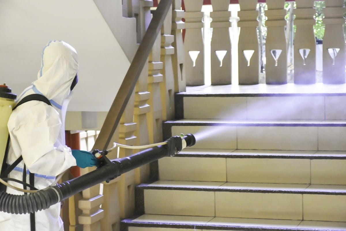Vista Residences Ensures Residents' Well-being Via Property Disinfection Treatment