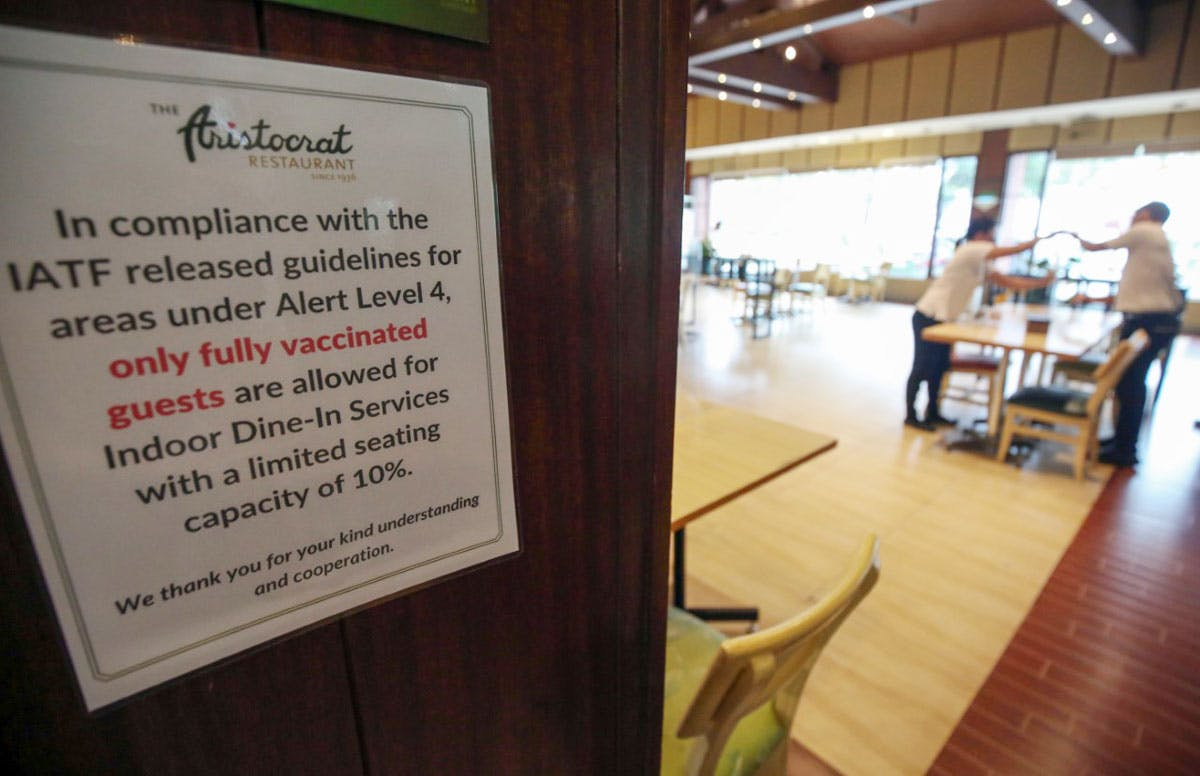 'Private Establishments Can Implement Rules On Vaccinated Individuals, But…'