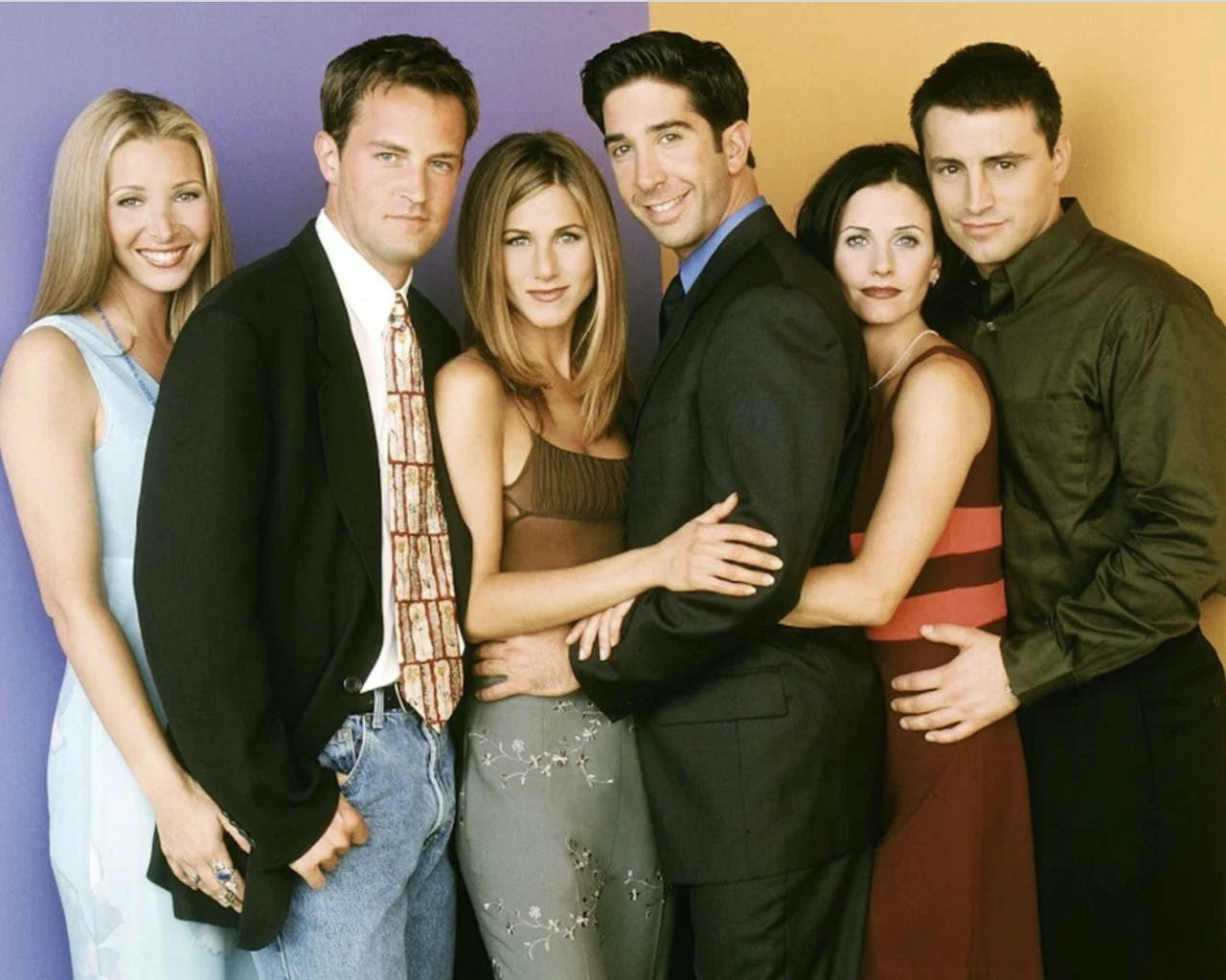 Jen Aniston And David Schwimmer Were Crushing On Each Other + 7 More Revelations From FRIENDS: The Reunion