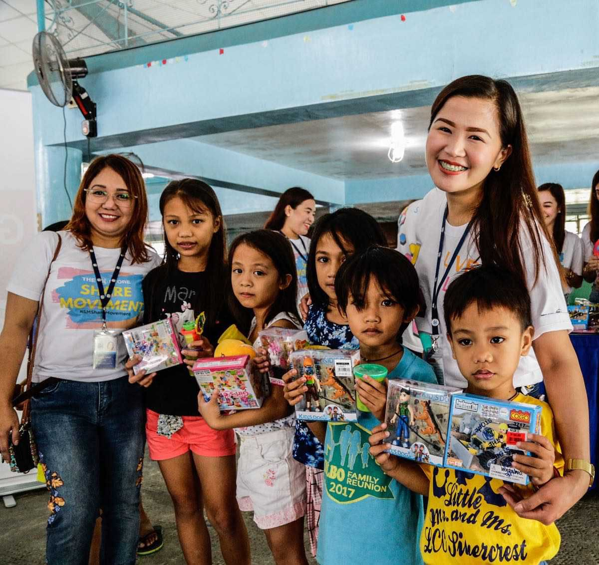 Toys From The SM Store Bring Smiles To Kids In Evacuation Centers